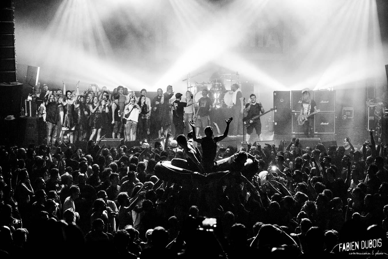 Photo Mass Hysteria Transbordeur 20 ans Médiatone Villeurbanne Lyon France 2017