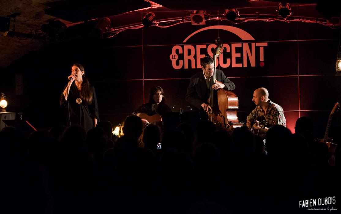 Photo Gypsy Swing Quartet Crescent Jazz Club 25 ans Cavazik Cave Musique Mâcon France 2017