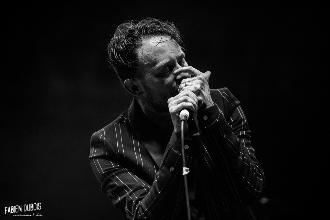 Photo Frank Carter The Rattlesnakes Radiant Bellevue Caluire Cuire Lyon France 2017