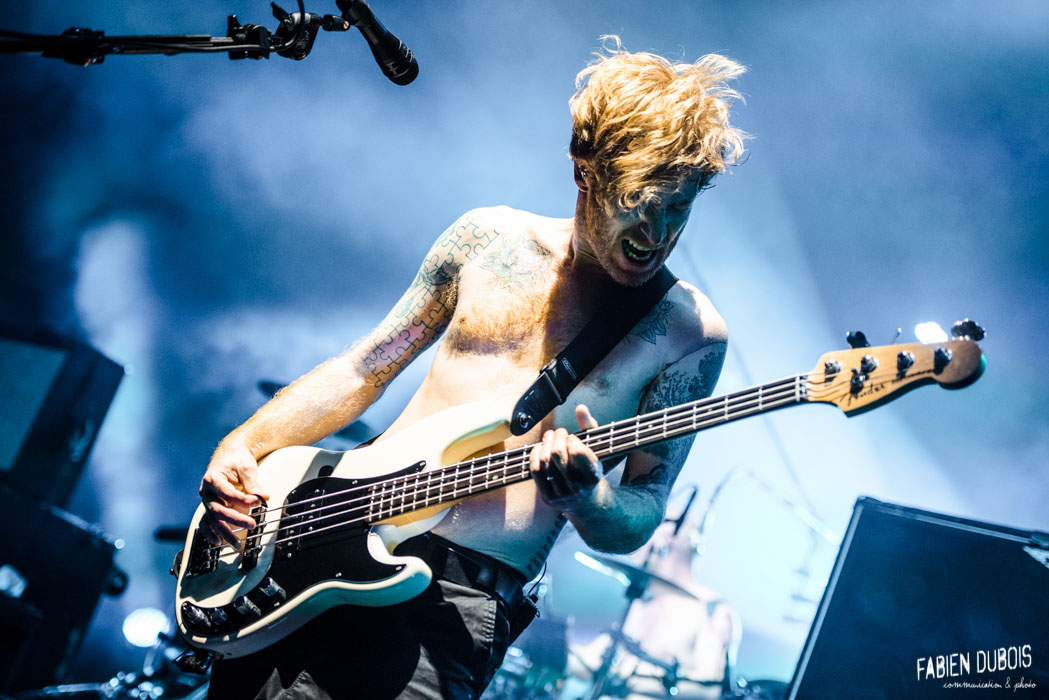 Photo Biffy Clyro Radiant Bellevue Caluire Cuire Lyon France 2017