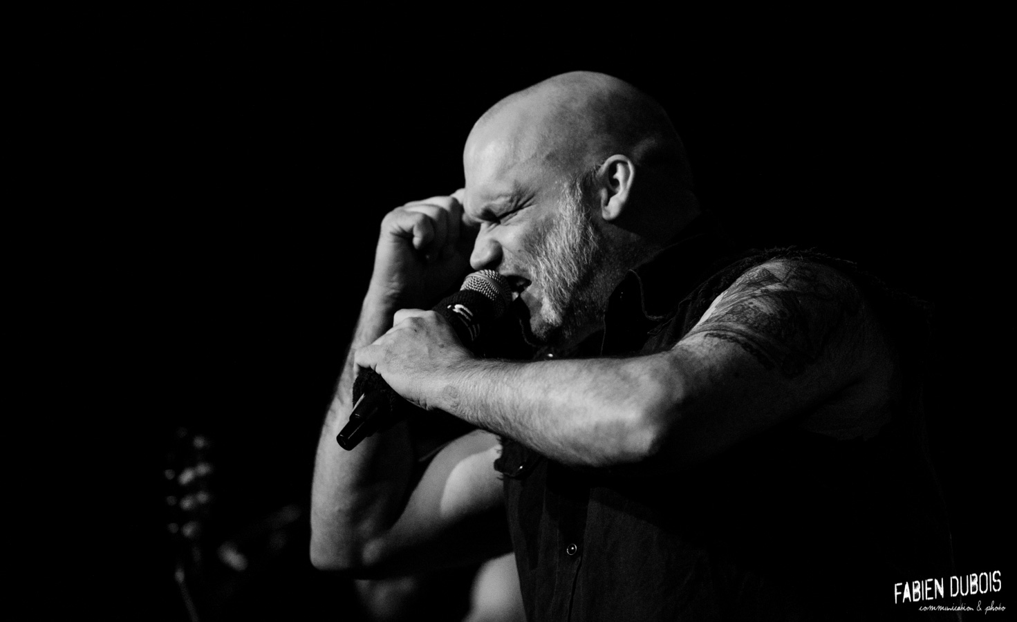 Photo Blaze Bayley Tannerie Bourg en Bresse France 2017