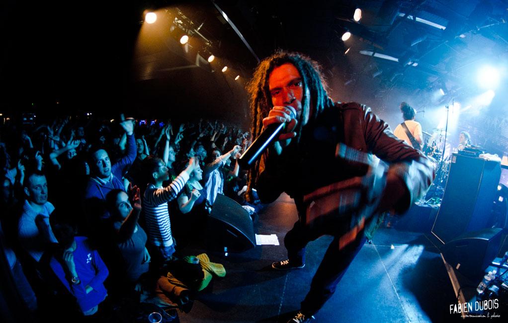 Photo Broussai Sortie Album In The Street Mâcon Cave Musique France 2015