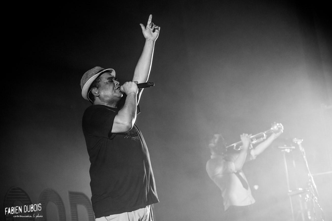 Photo L'entourloop Troy Berkley Nzeng Festival Contraste et Couleurs Chalon sur Saone Samedi 2018