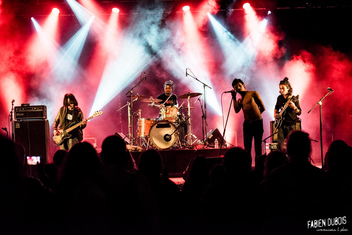 Photo The Dizzy Brains Festival Europopcorn Mervans France 2017