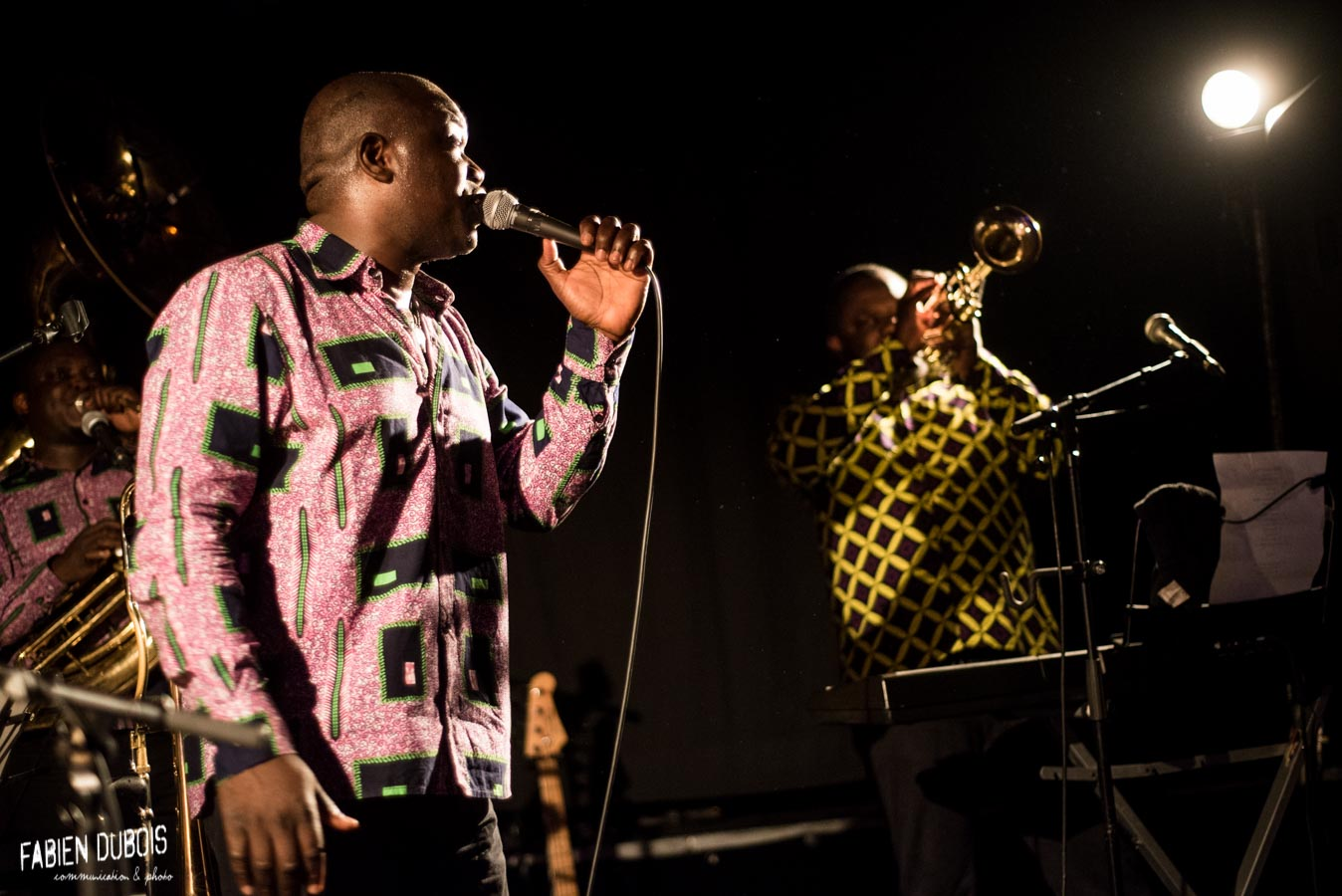 Photo Eyo'nle Valse à Cotonou Cave à Musique Cavazik Mâcon 2018