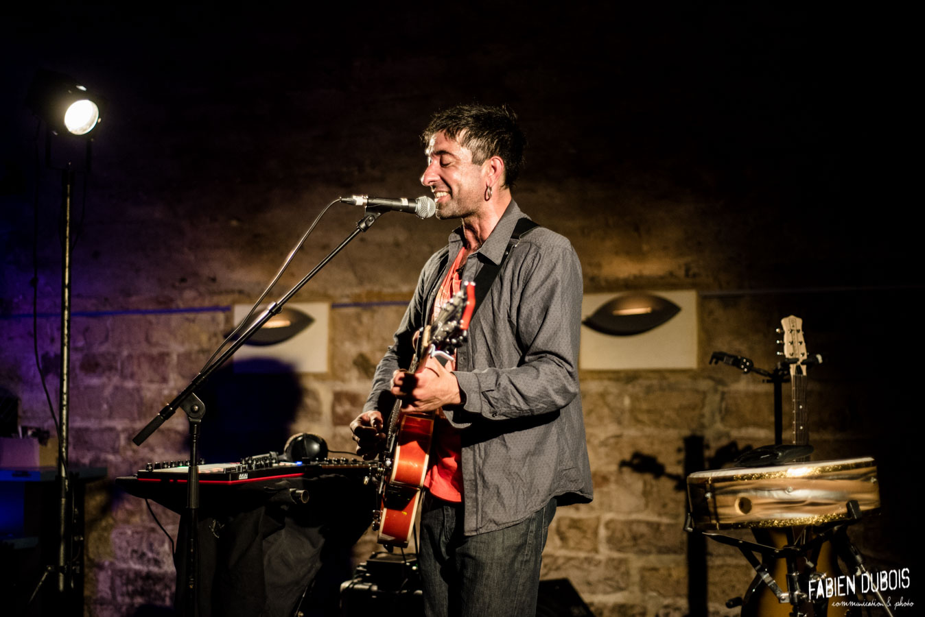 Photo Arash Sarkechik  Cave à Musique Cavazik Mâcon 2018