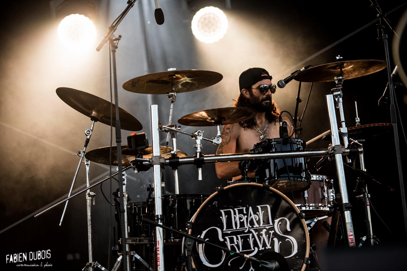Photo Dead Crows Fast and Loud Festival Été Frappé Esplanade Lamartine Mâcon 2017