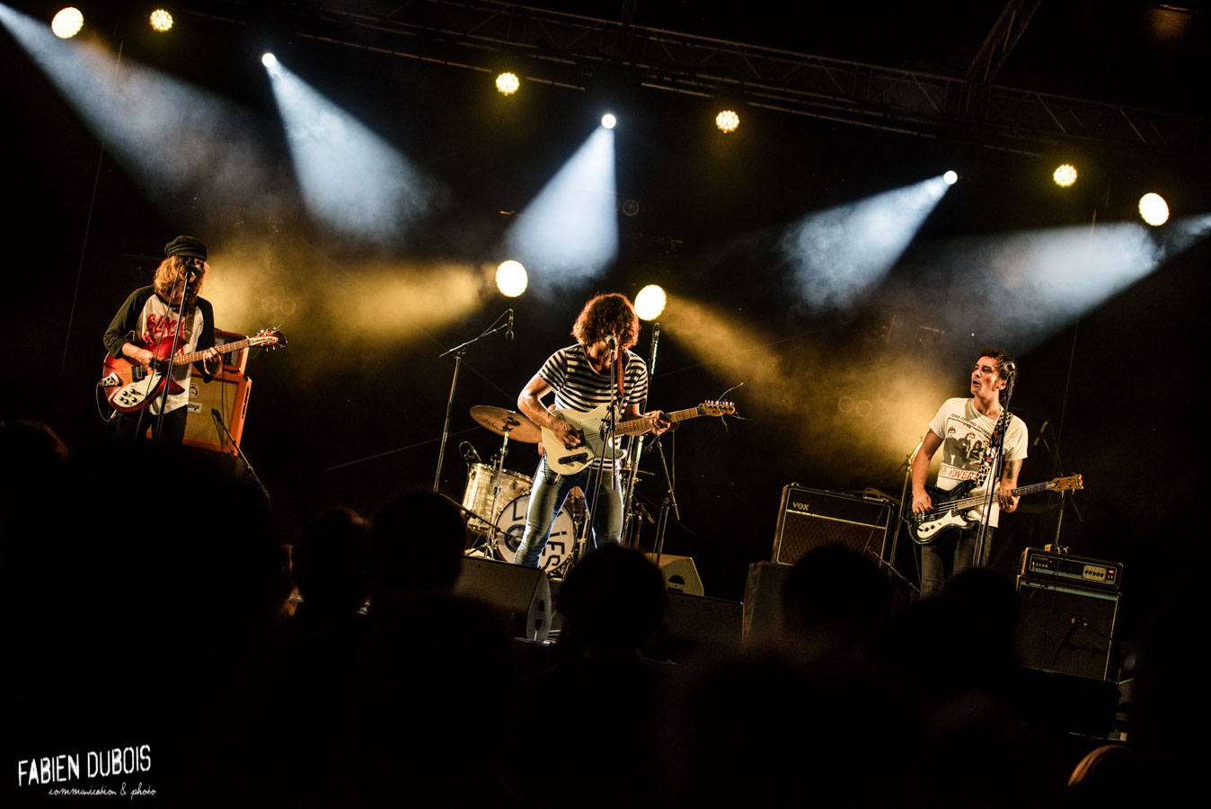 Photo Les Lullies Fast and Loud Festival  Été Frappé Esplanade Lamartine Mâcon 2017