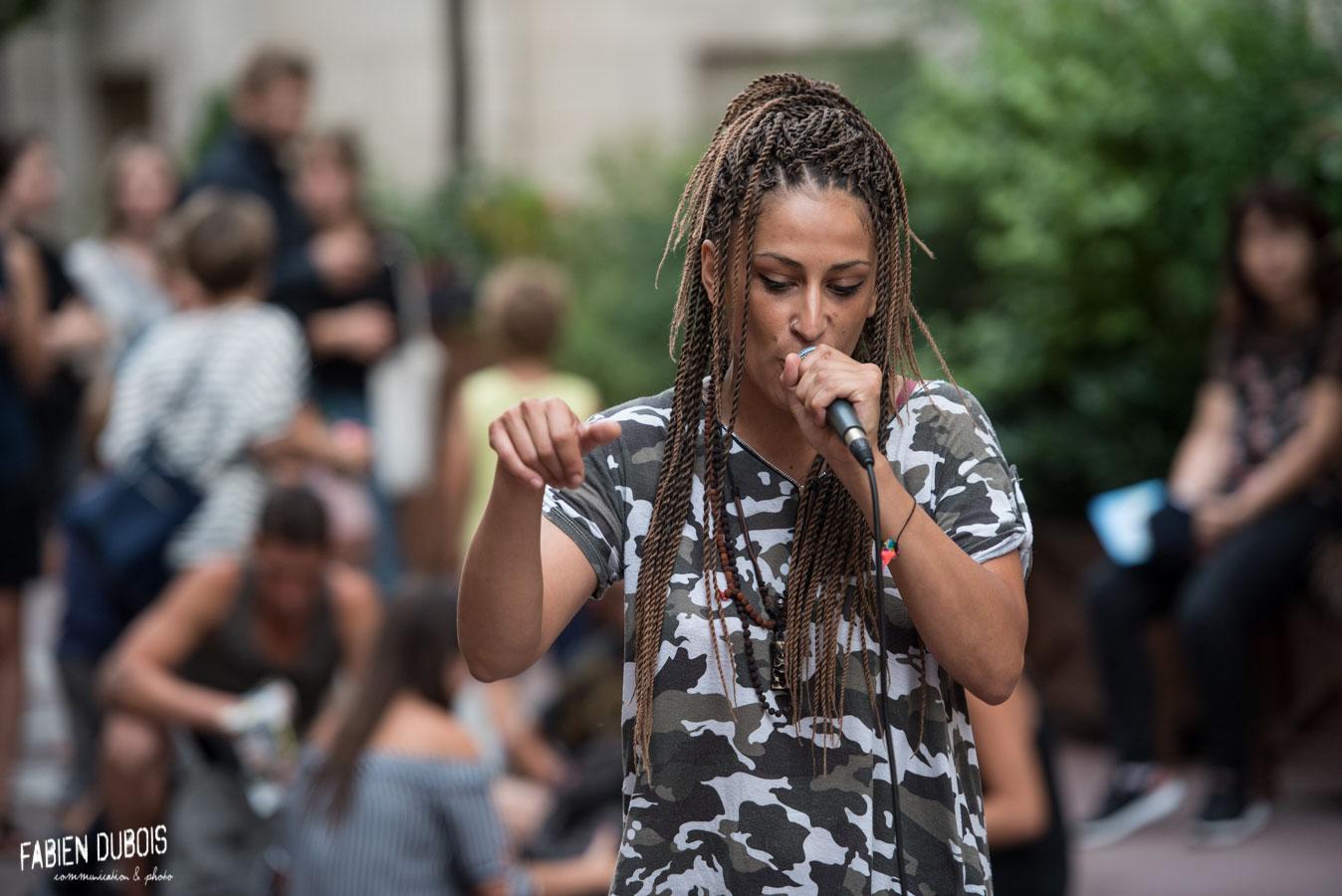 Photo Kheïra Oeil du Dragon Fête de la Musique Mâcon 21 Juin 2018