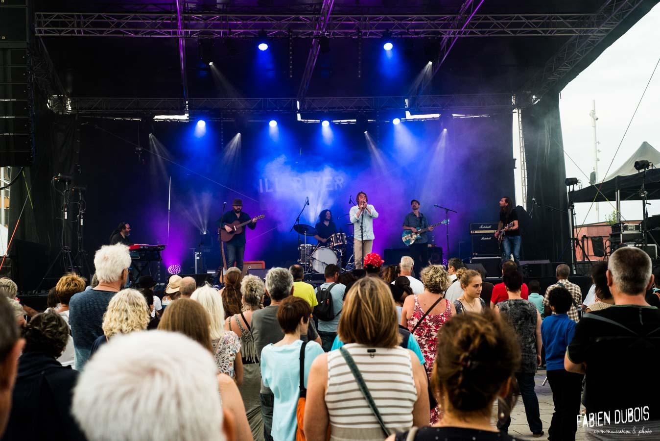 Photo Ill River Esplanade Lamartine Fête de la Musique Mâcon 21 Juin 2018