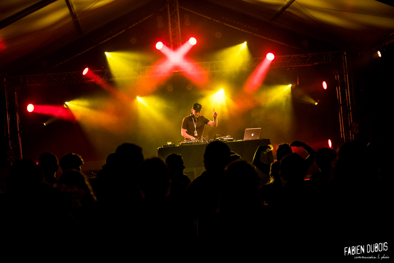 Photo Dj Deryv Genestival Genelard 2018