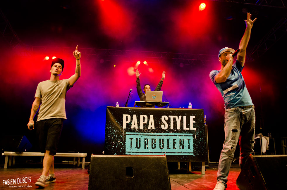 Photo Papa Style Festival Grand Bastringue Abbaye Cluny France 2016