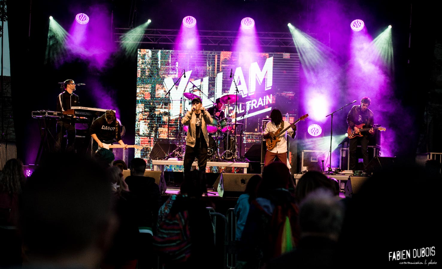 Photo Yellam Festival Grand Bastringue Abbaye Cluny France 2017