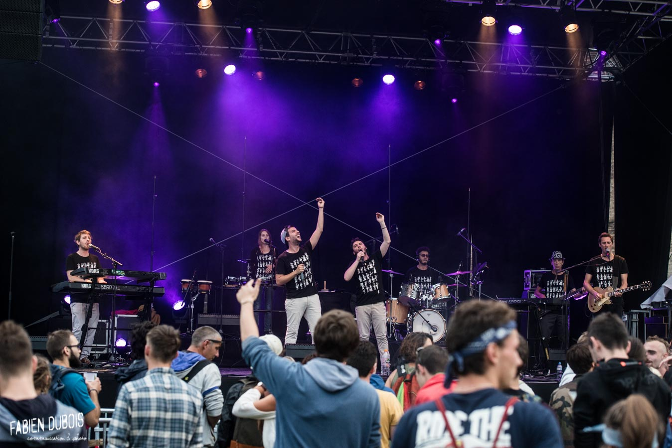 Photo Feuilles de Roots Grand Bastringue Festival Cluny Vendredi 2018