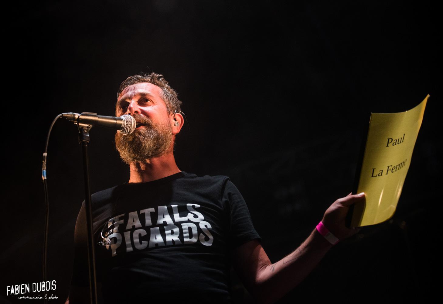 Photo Les Fatals Picards Les Gueules de Bois Festival Legna 2019