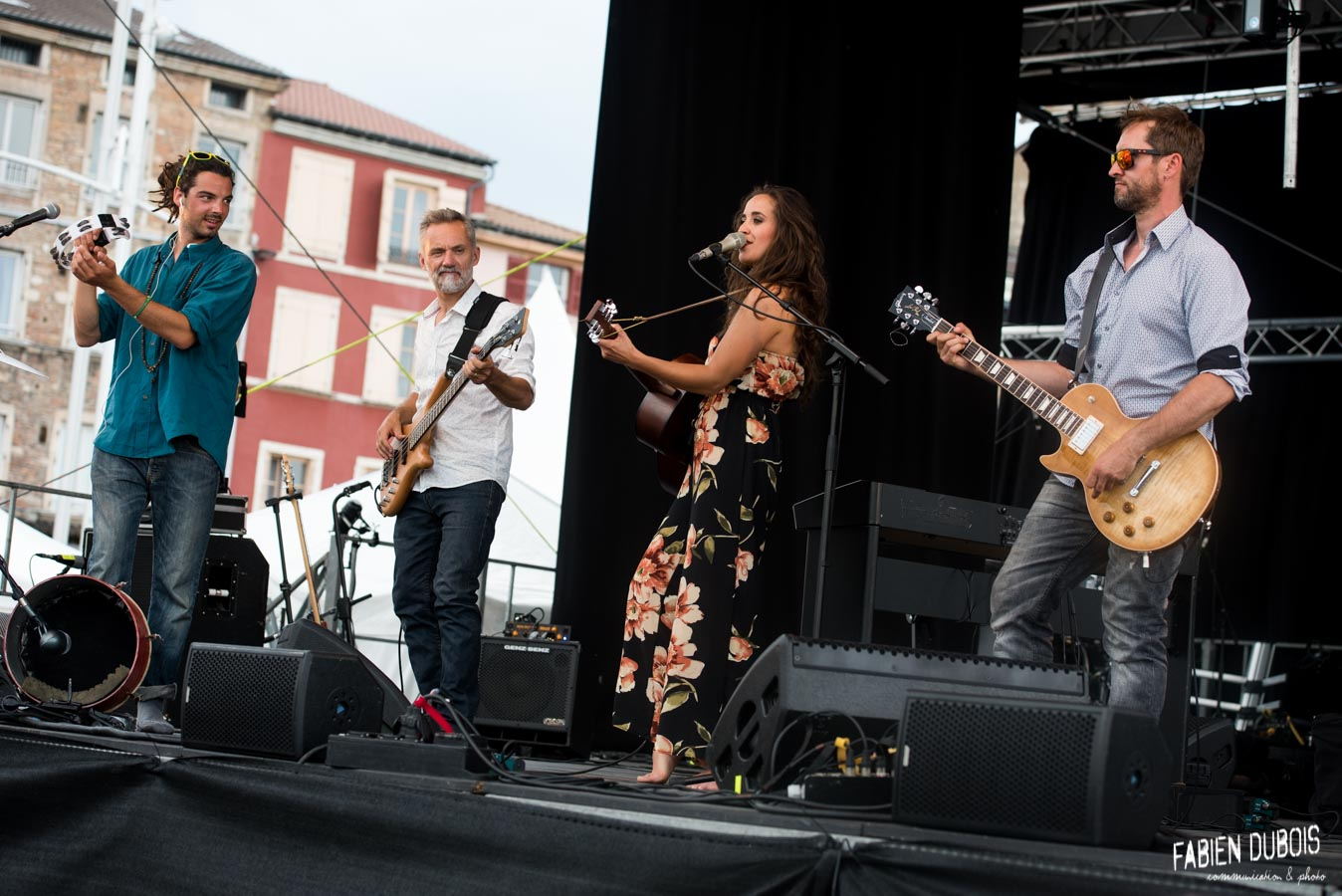 Photo Jeanette Berger Full Band Wine Note Esplanade Lamartine Mâcon 2018
