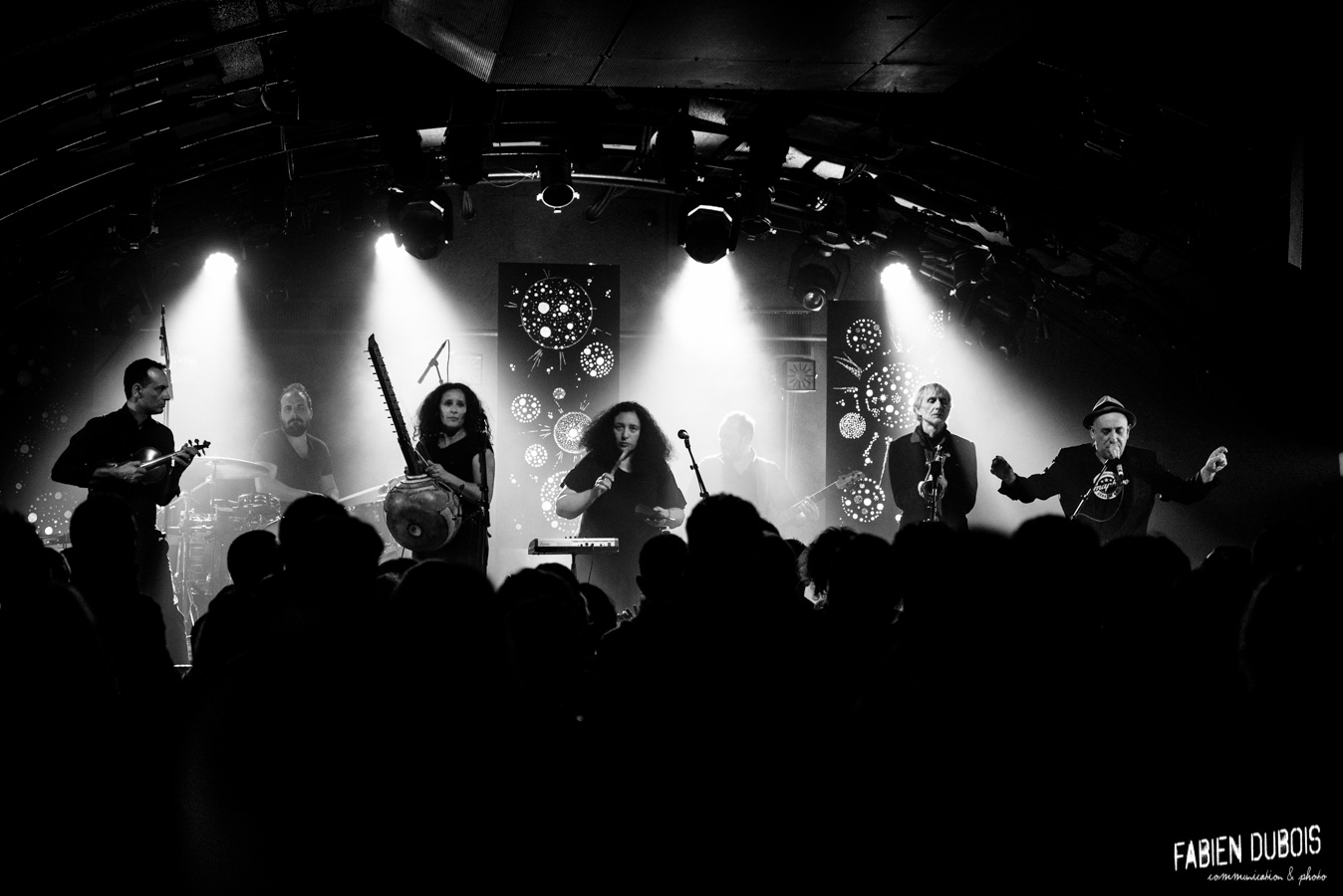 Photo Lo'jo Erik Truffaz Cave à Musique Cavazik Mâcon 2017