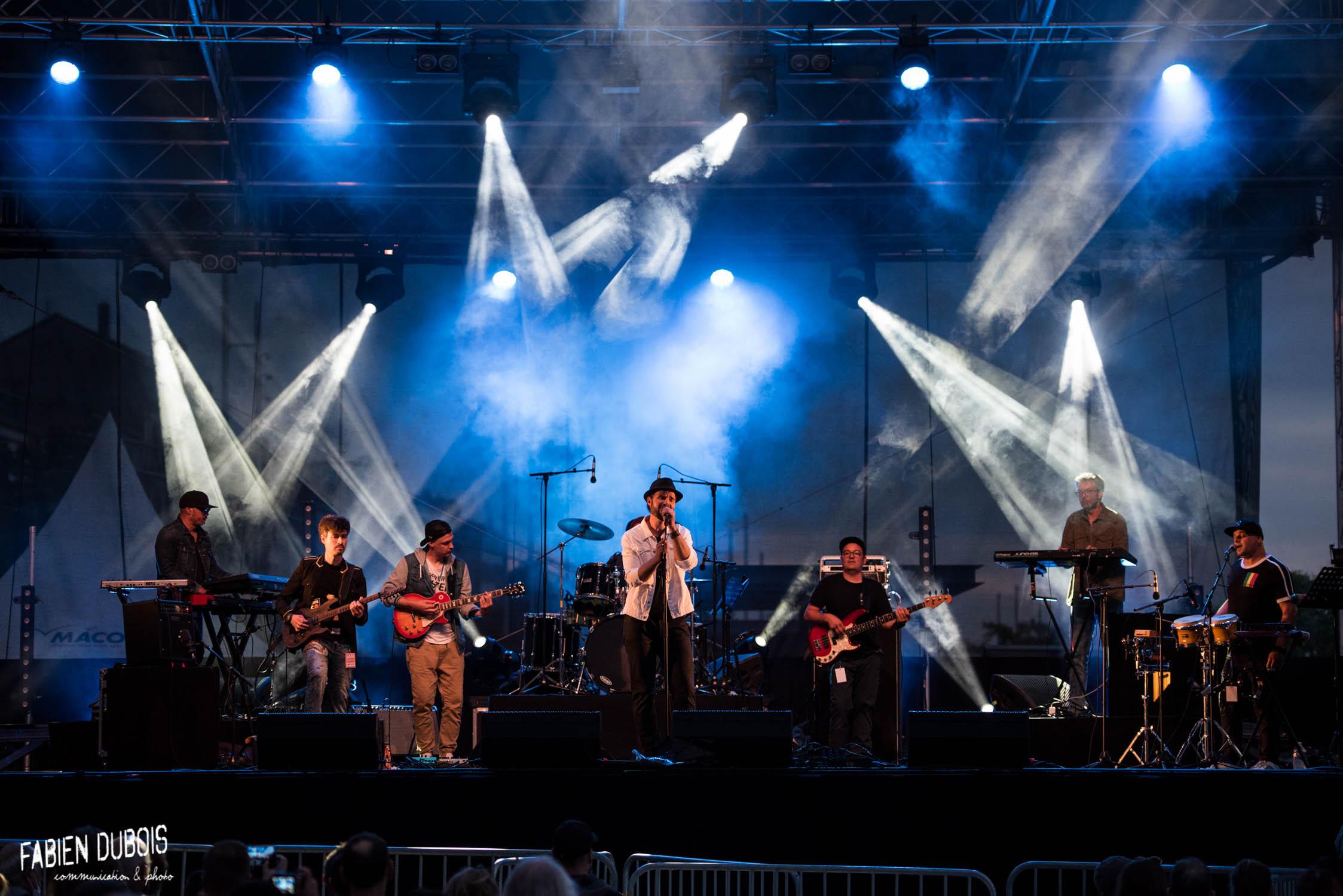 Sherwood Brothers Fête Musique Esplanade Lamartine Mâcon 2021