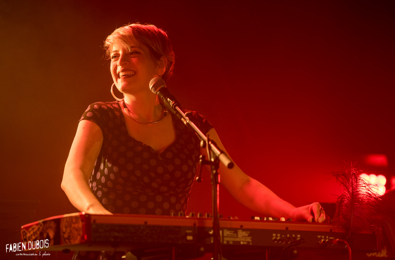 Photo Madame Robert Cave à Musique Cavazik Mâcon 2018