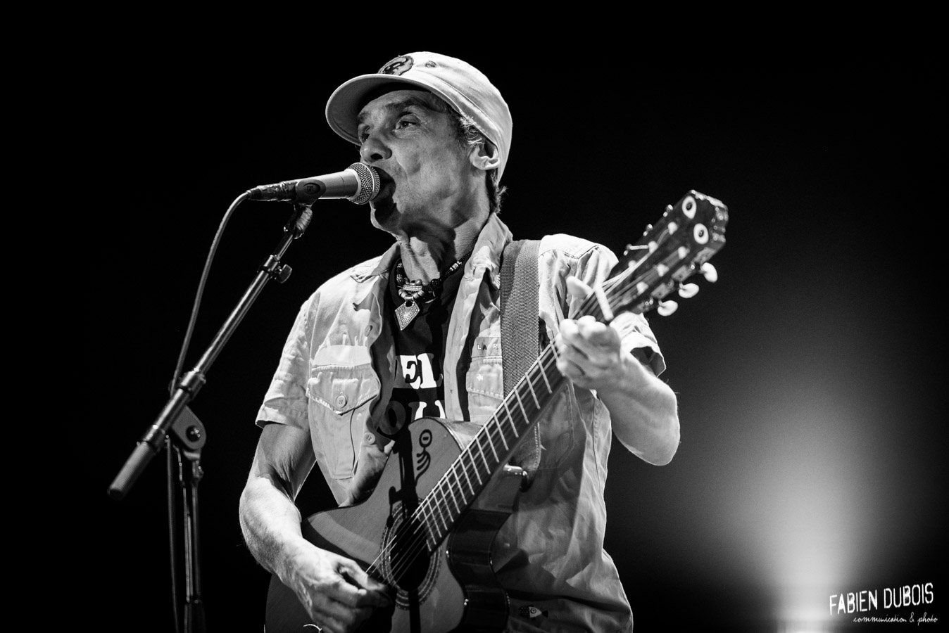 Photo Manu Chao La Ventura Printemps Pérouges Saint Vulbas 2017