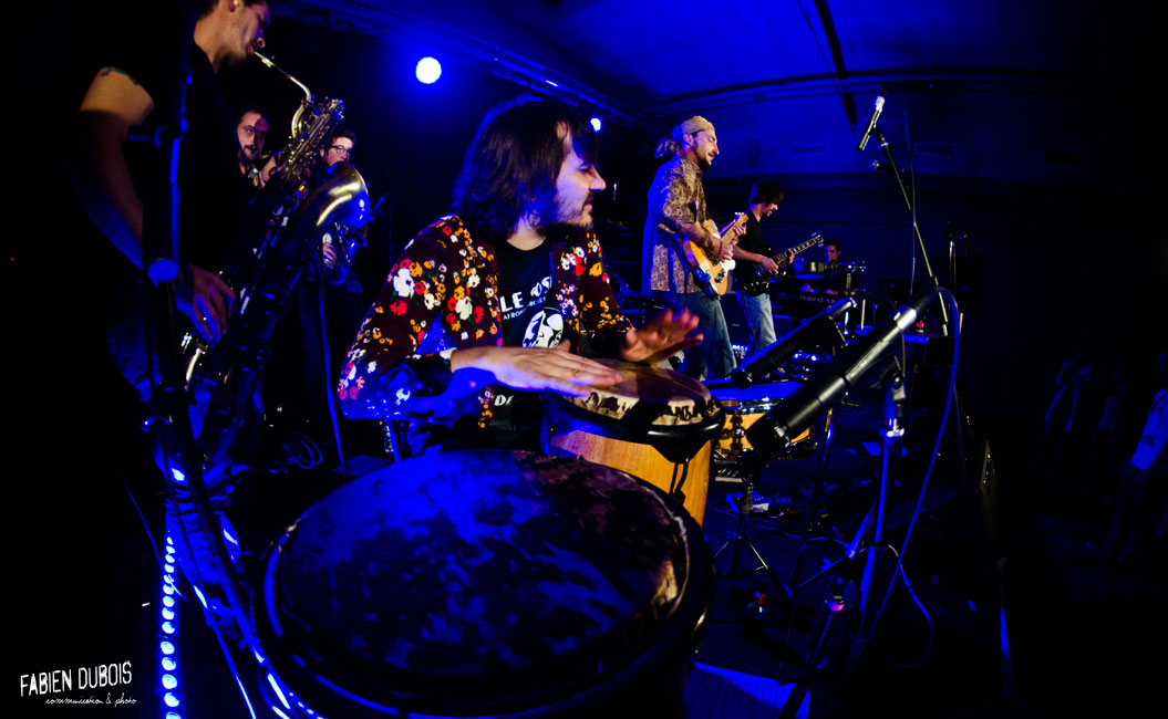 Photo The Thirsty Selenits Band Nid Poule Festival Crottet France 2015