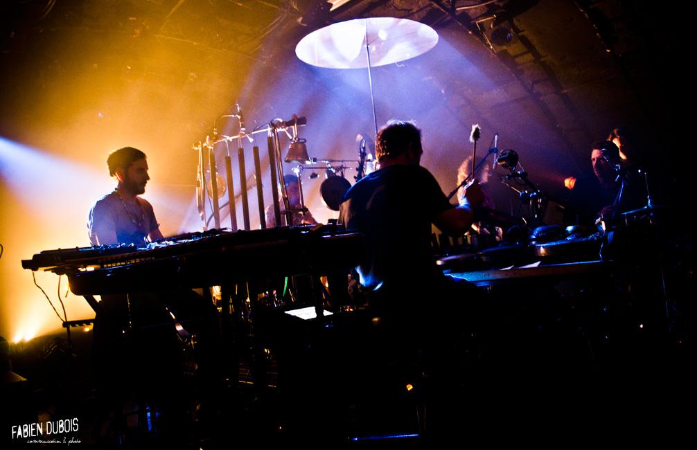 Photo Magnetic Ensemble Mâcon Cave Musique France 2015