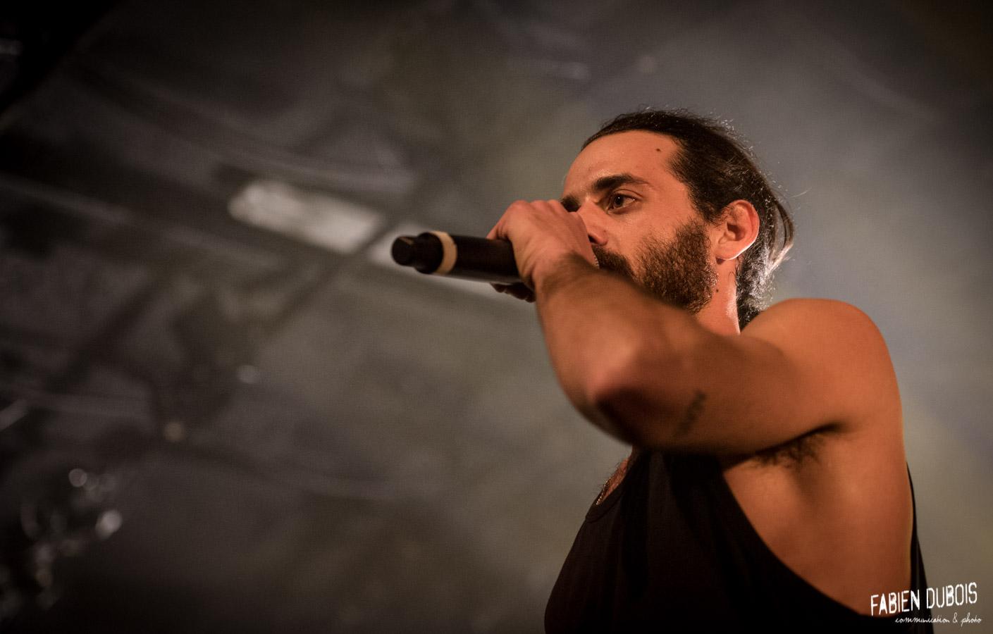 Photo Mc Jo Hell 25 ans Cavazik Cave Musique Mâcon France 2017