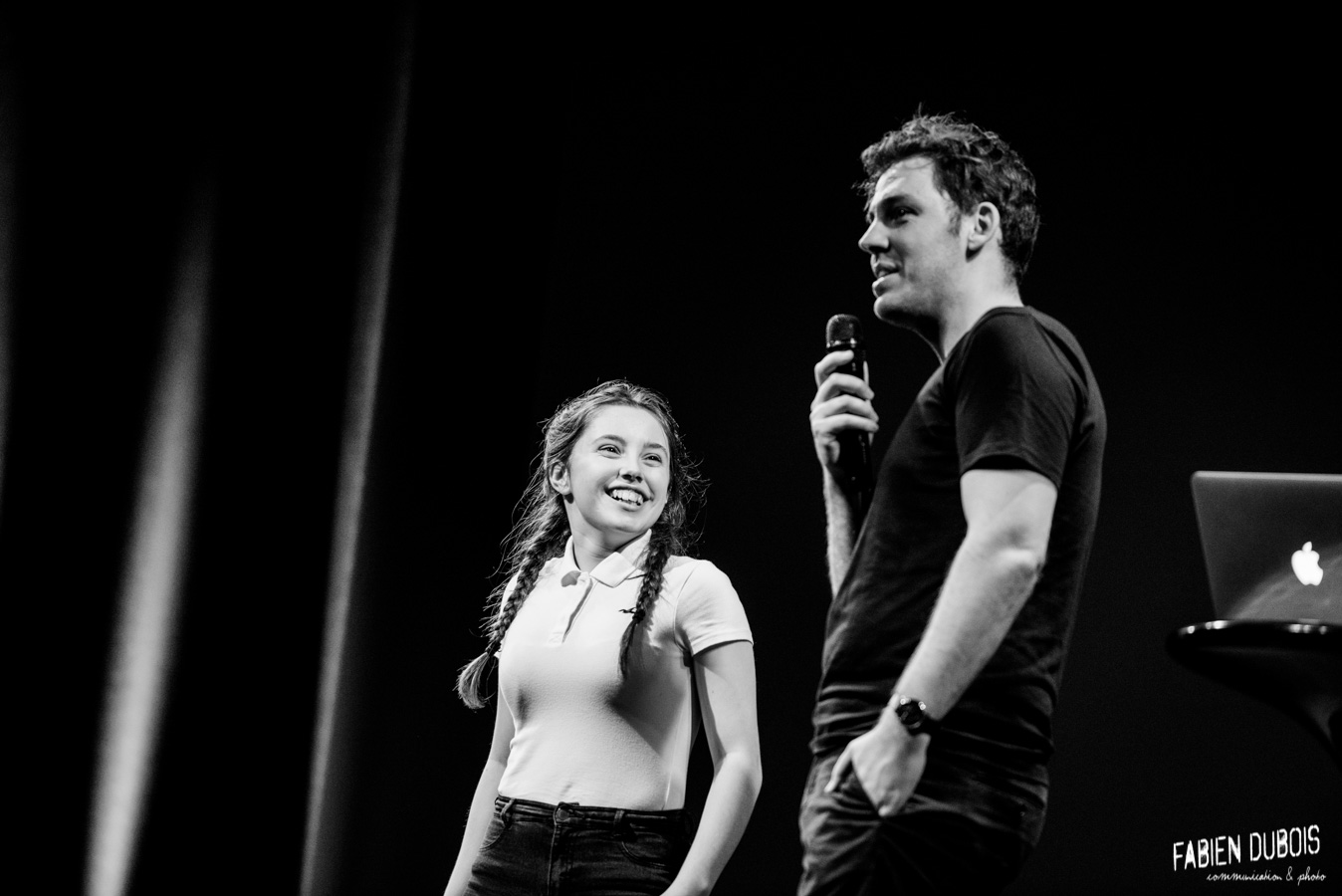 Photo Pierre Croce Powerpoint Comedy Festival Vendanges de l'Humour la Verchère Charnay les Mâcon 2017