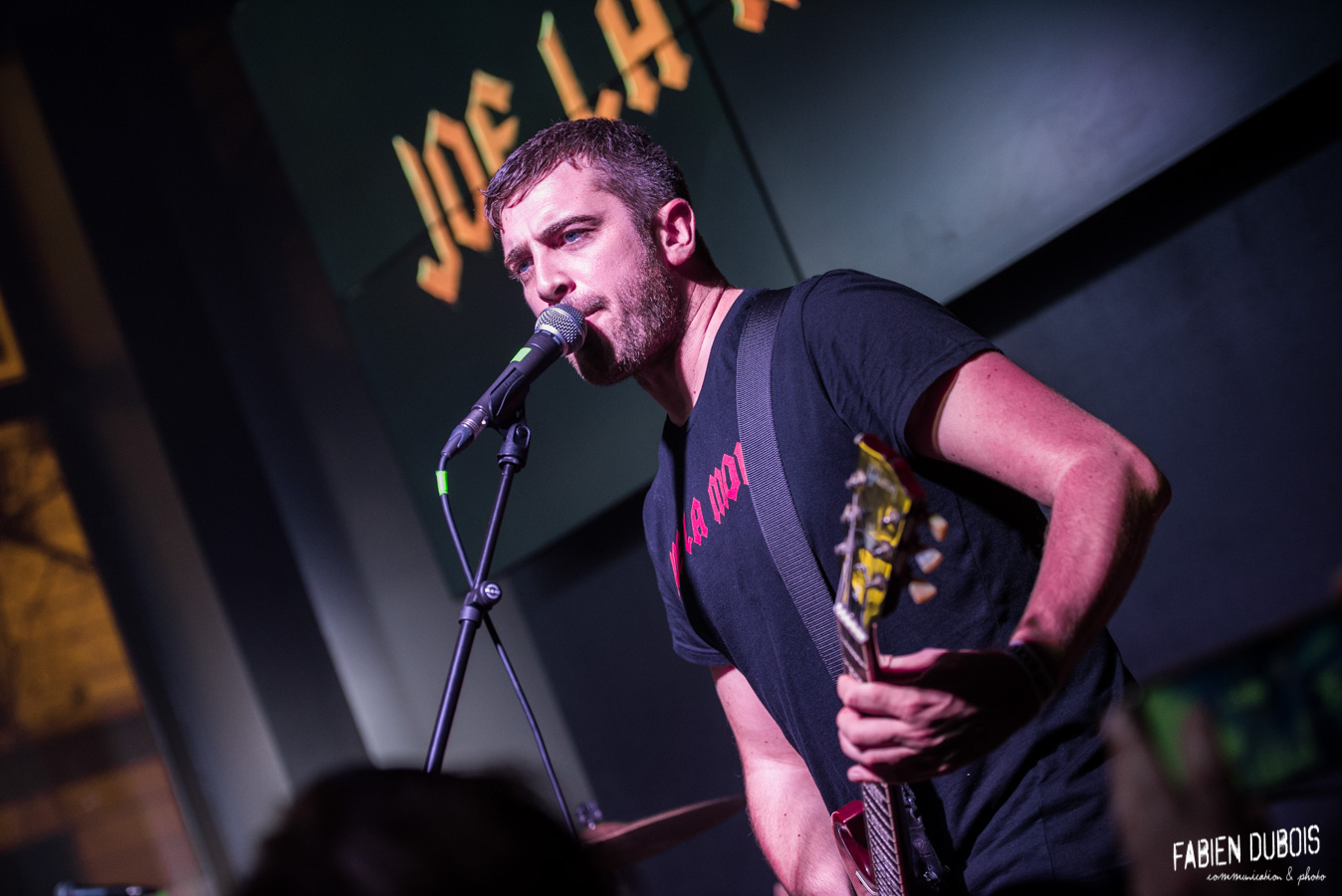 Photo Joe La Mouk Hard Rock Café Lyon 2018