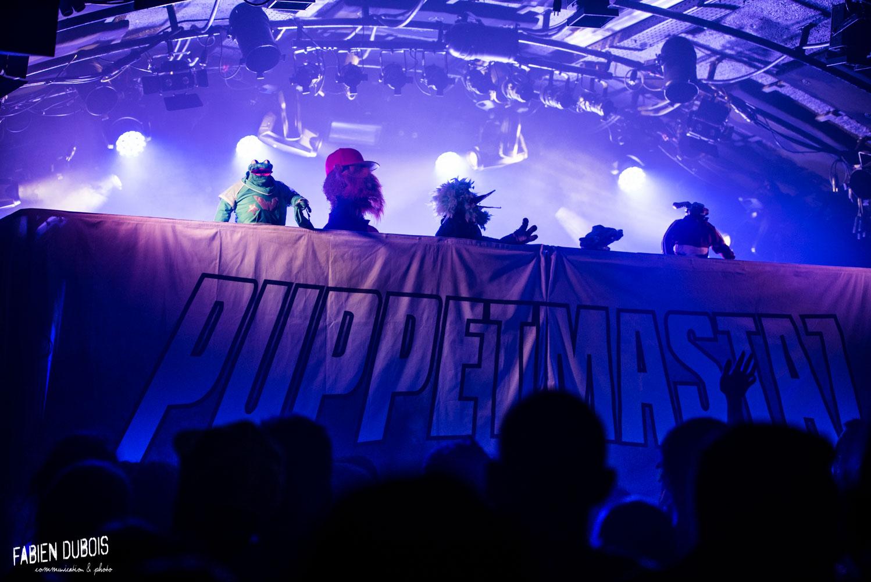 Photo Puppetmastaz Cave à Musique Cavazik Mâcon 2019