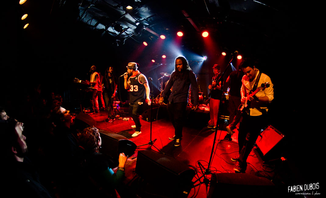 Photo Rootz Underground Stormilianz Featuring Mâcon Cave Musique France 2015