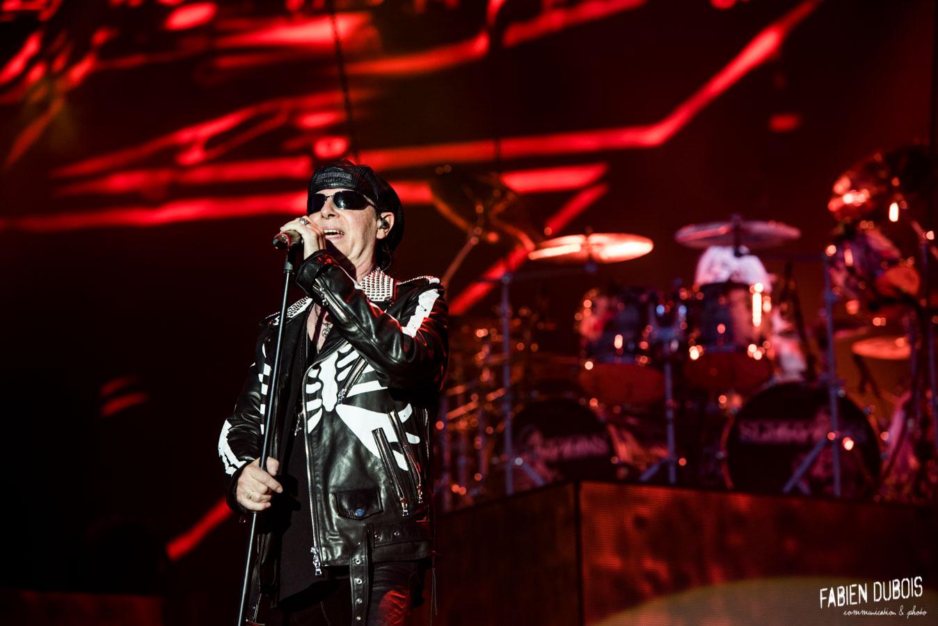 Photo Scorpions Crazy World Tour Festival Printemps de Pérouges Saint Vulbas 2018