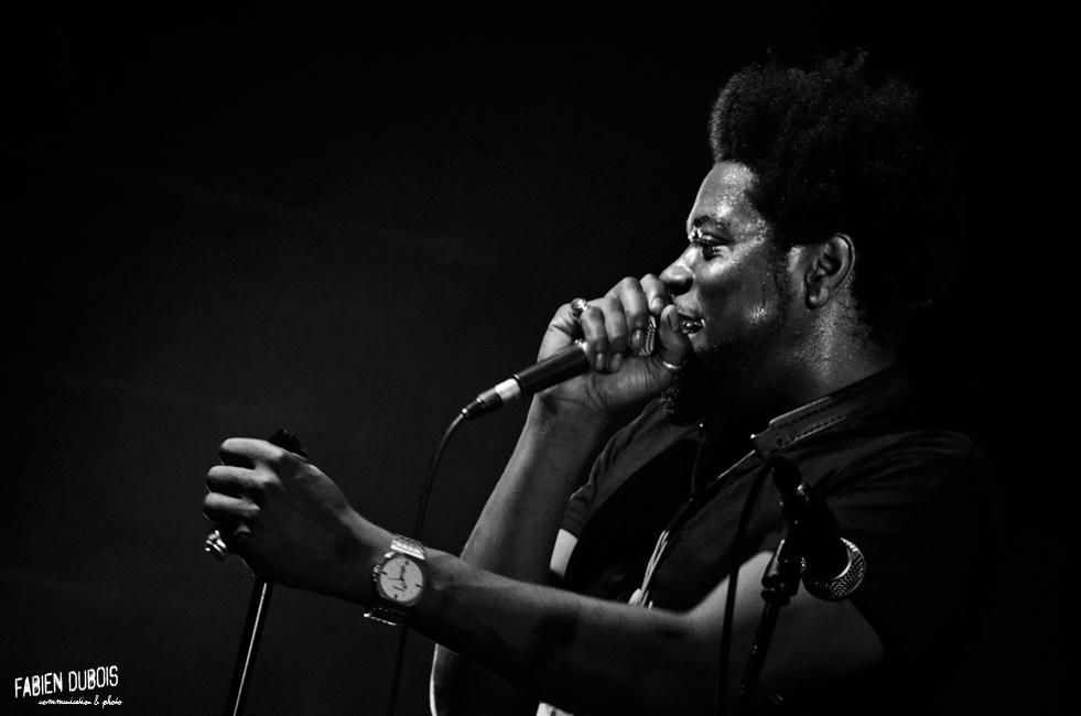 Photo Soweto Kinch Cave Musique Mâcon France 2014