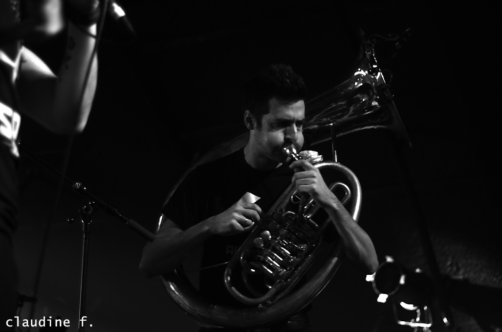 Photo Soviet Suprem Mâcon Cave Musique France 2015