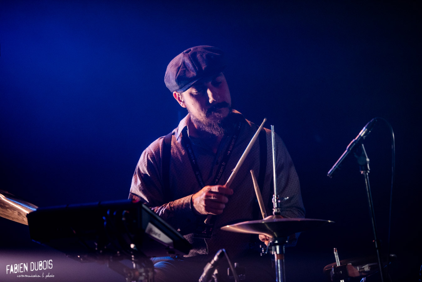 Photo Otis Stacks Cave à Musique Cavazik Mâcon 2018