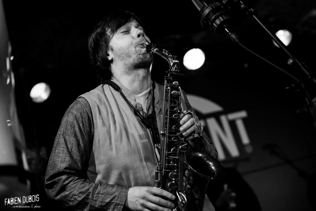 Photo Zhenya Strigalev Crescent Jazz Club Mâcon France 2016